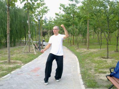 Trénink v parku